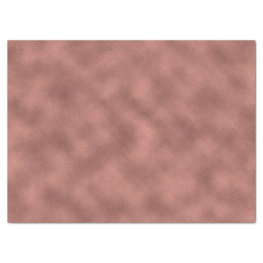 Rose Gold Pink Blush Glam Metallic Glass Tissue Paper