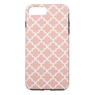 Rose Gold Quatrefoil Pattern | iPhone 8 Plus/7 Plus Case