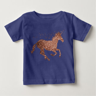 Rose Gold Sparkle Unicorn Top