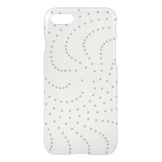 Rose Gold Swarovski Crystals Gemmes Glam iPhone 8/7 Case