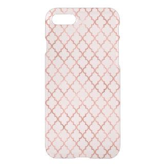 Rose Gold Trellis Pattern iPhone 8/7 Case
