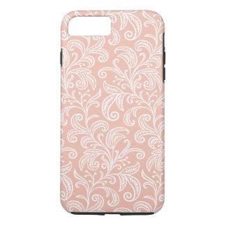 Rose Gold Vine Pattern | iPhone 8 Plus/7 Plus Case