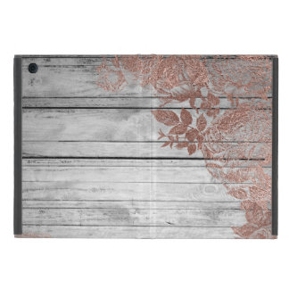 Rose Gold Wood Distressed No Kickstand iPad Case