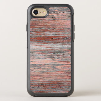 Rose Gold Wood Vintage Distressed Otterbox OtterBox Symmetry iPhone 8/7 Case
