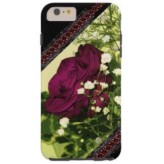 Rose Goth Ornate Victorian Black Lace CricketDiane Tough iPhone 6 Plus Case