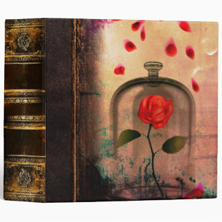 Rose Grunge Fairytale Antique Book Binder