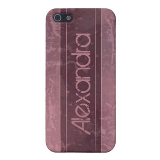Rose Grunge Marble Distressed iPhone 5 Covers