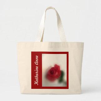 Rose Haze Personalized Jumbo Tote Bag