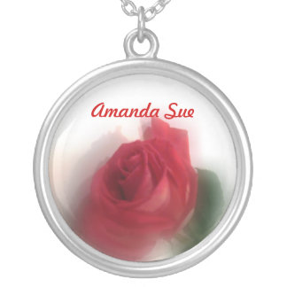 Rose Haze Personalized Necklace