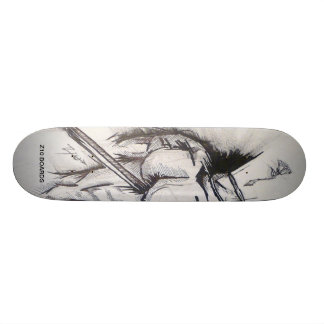 Rose Head Skate Board Decks