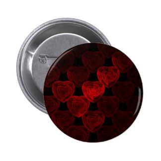 Rose Hearts Pin