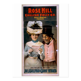 Rose Hill, 'Read that last line over again' Postcard