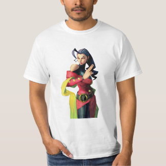 Rose Holding Up Two Fingers T-Shirt