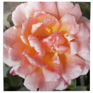 rose in autumn napkin