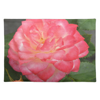 Rose in bloom placemat