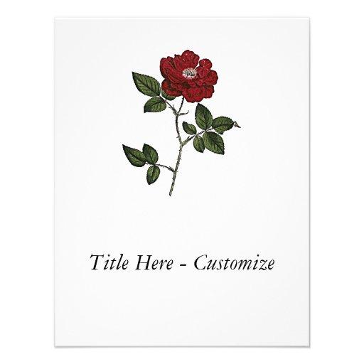 Rose Custom Invites