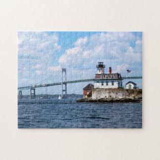 Rose Island Lighthouse, Rhode Island Puzzles