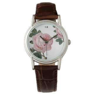 Rose Leather Watch
