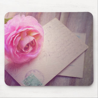 Rose Letter Mousepad