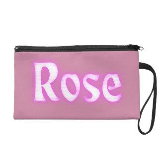Rose Logo Wristlets