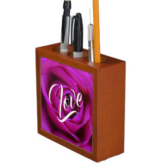 Rose Love Desk Organizer