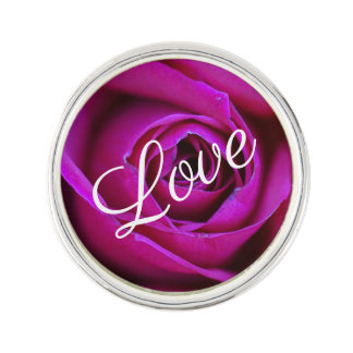 Rose Love Lapel Pin