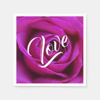 Rose Love Paper Napkin