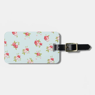 Rose Luggage Tag