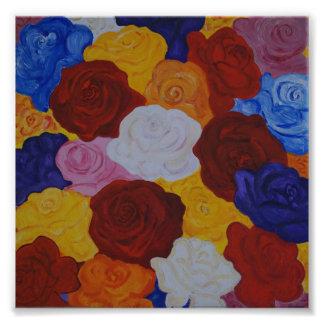Rose magic photo print