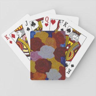Rose magic playing cards