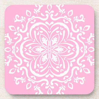 Rose Mandala Coaster
