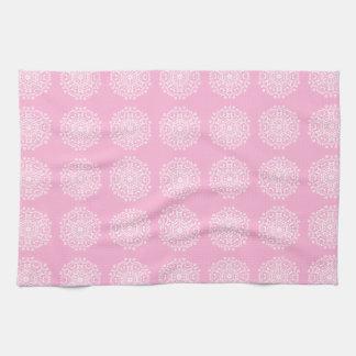 Rose Mandala Hand Towel