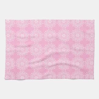 Rose Mandala Kitchen Towel