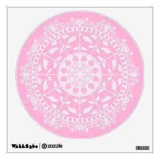 Rose Mandala Wall Sticker