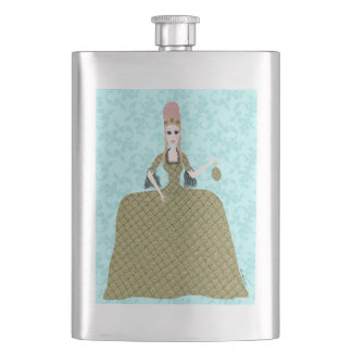 Rose Marie Hip Flask