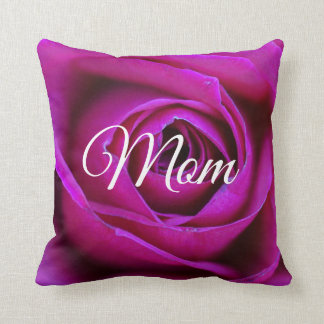Rose Mom Throw Pillow