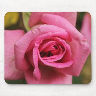 Rose Mousepad, Pink Rose, Pink Flower Mousepad