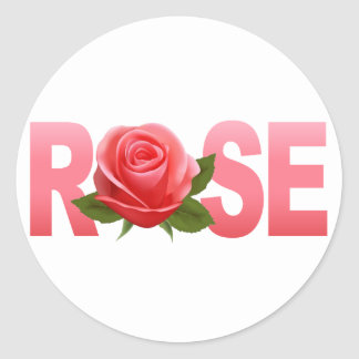 rose name stickers rose name custom sticker designs