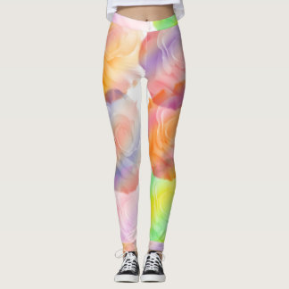 Rose Of A Different Color Leggings