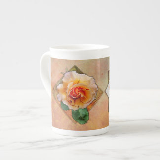 Rose of Another Color - Bone China Cups