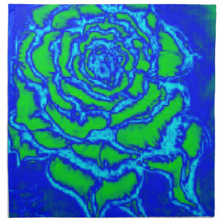 Rose of Blue Napkin