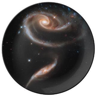 Rose of Galaxies Plate
