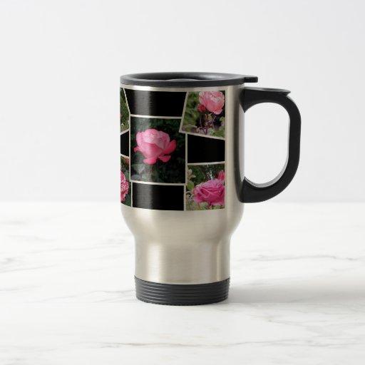 Rose of Love Collage Coffee Mugs