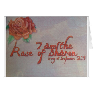 rose of sharon card
