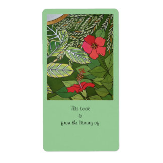 Rose of Sharon Jungle book plate