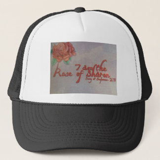 rose of sharon trucker hat