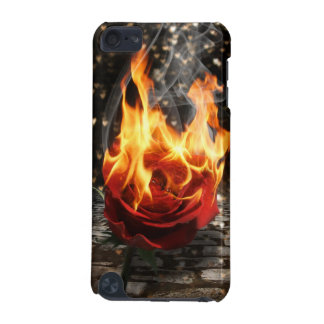Rose On Fire, Burning Rose iPod Touch 5G Cover
