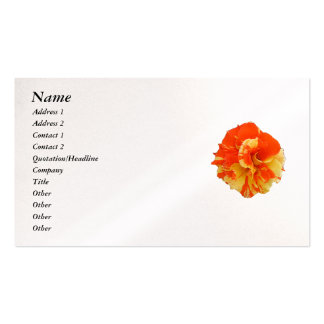 Rose Pack Of Standard Business Cards