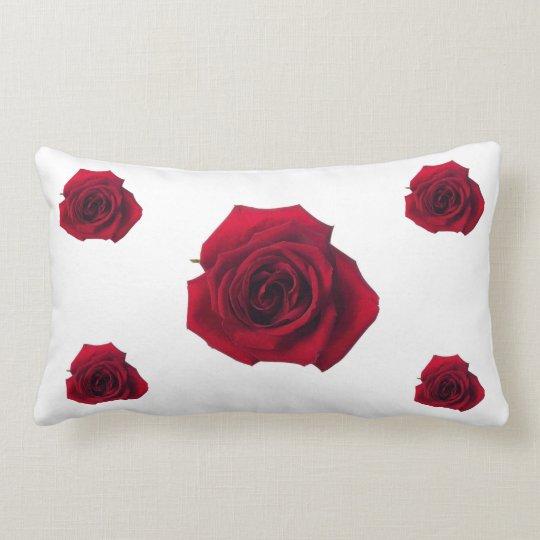 rose passion lumbar pillow