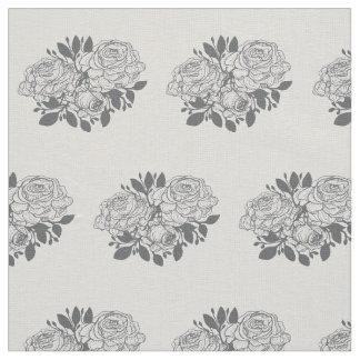 Rose Pattern Print Fabric